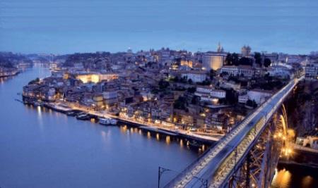 Porto river-side view
